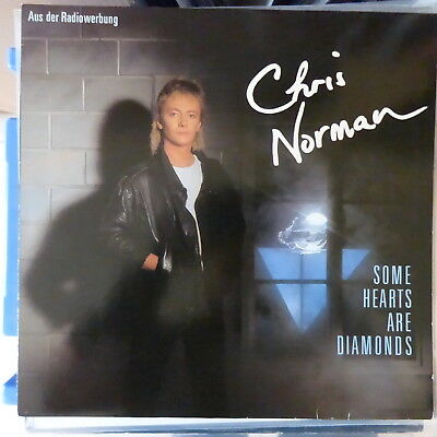 Chris Norman Lp Some Hearts Are Diamonds 1986 Europe Vg++/vg++