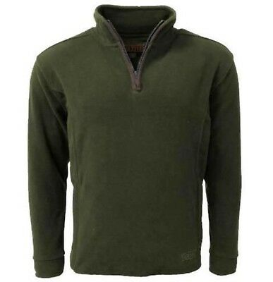 Game Stanton Fleece Pullover Jumper Green Country Hunting Shooting