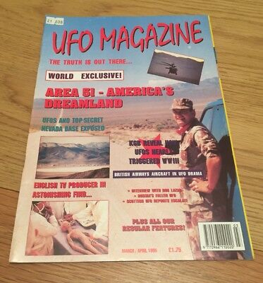 UFO Magazine March/April 1995.