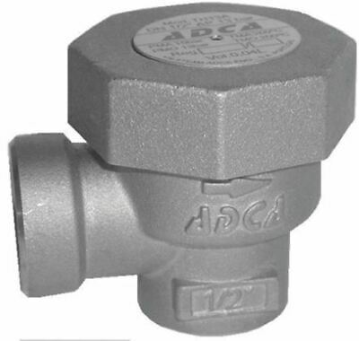 RS PRO 13 bar Brass Thermostatic Steam Trap, 1/2 in BSP Female