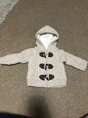 Primark Early Days Baby Knitted Coat 0-3 Months