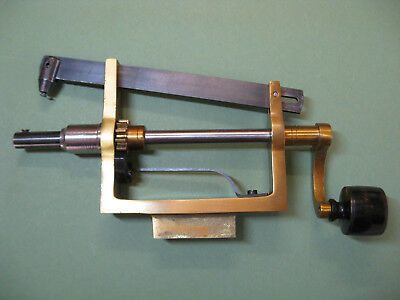 Vintage Clockmakers Heavy Duty Clock Mainspring Winder,by J.malcolm Wild.