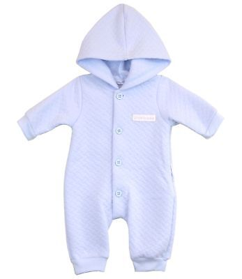 BabyPrem Baby Boys Clothes Blue All-In-One Suit Sleepsuit Newborn - 0-3m