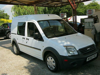 Ford Transit Connect 1.8TDCi ( 90PS ) Crew Van T230 LWB Hi Top