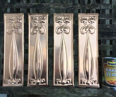 copper door finger plates free postage