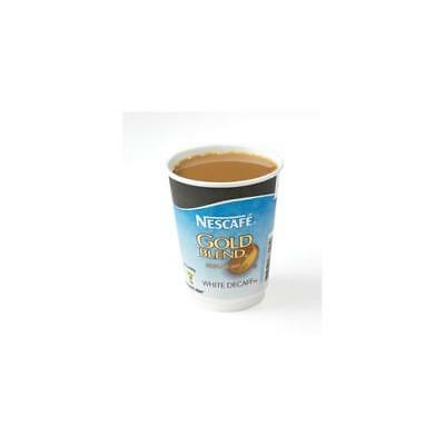 12033784 Nescafe & Go Gold Blend Decaffeinated White Coffee Foil-sealed Cup x8