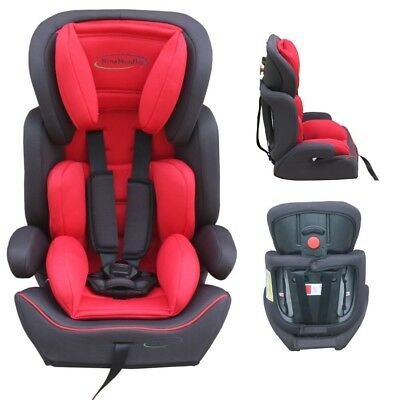 Carseat KS1 red Convertible Group 1-2-3 Baby Child Car Booster Seat 9-36kg