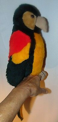 Parrot Plush Hand Puppet Country Critters Tiki Tropical