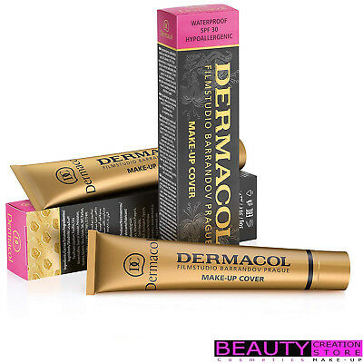 DERMACOL Make-Up Cover Foundation 30ml CHOOSE SHADE DC001