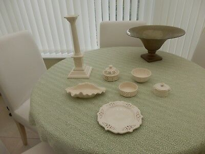 Leedsware  Creamware ..collection of items
