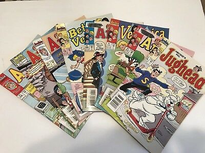Lot Of 8 ARCHIE and ARCHIE RELATED COMICS