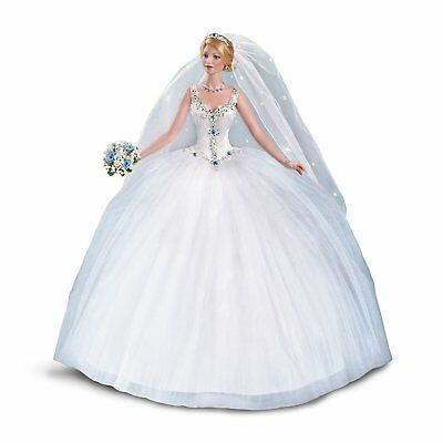 Ashton Drake - Happily Ever After 30th Anniversary Bisque Porcelain Bride Doll