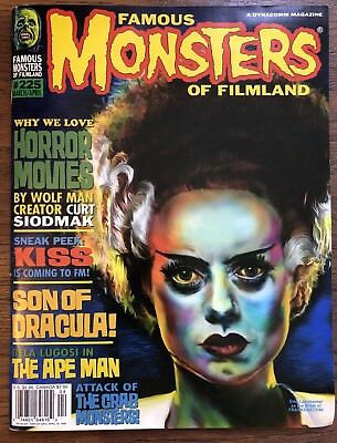 famous monsters of filmland magazine #225 March/April