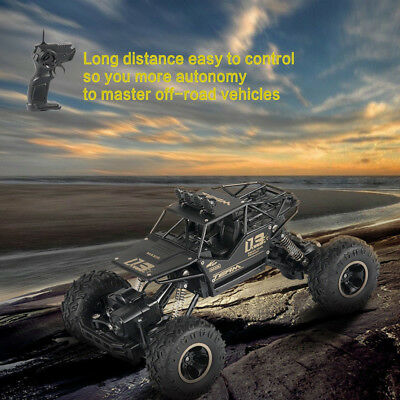 1:18 4WD RC Cars Alloy Speed 2.4G Radio Control Alloy Off-Road Trucks Toys US