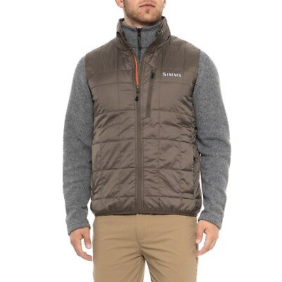 Simms Fly Fishing PrimaLoft Gold Insulated Vest - Hickory Color - XL or 2XL NEW!