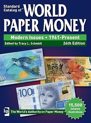 2018 Catalog of World Paper Money Modern Issues 1961-Present (24th ed) PDF Only