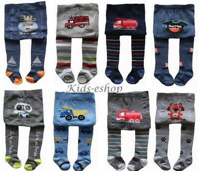 BABY BOYS COTTON TIGHTS LEG WARMERS SOCKS PANTS 0-3-6-12-18-24 Month