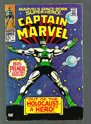 "Captain Marvel #1 ""Out of the Holocaust, A Hero"