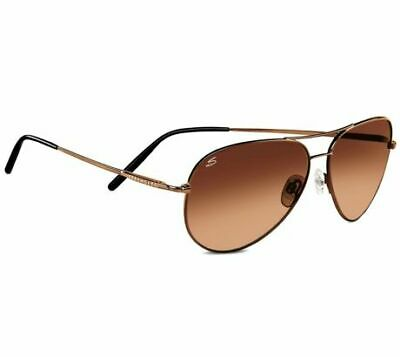 768e0f1c6a48 Serengeti Aviator Sunglasses, Medium - 59mm, Henna Frame, Drivers Gradient  Lens