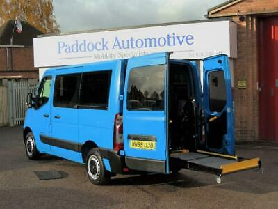 Renault Master SL28dCi Auto Driver Transfer Wheelchair Adapted Vehicle WAV