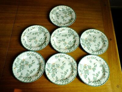 Bhs Country Vine Lunch / Salad Plates X 7