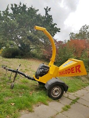 Entec Timberwolf Towed Gravity Wood Chipper 18hp V-Twin