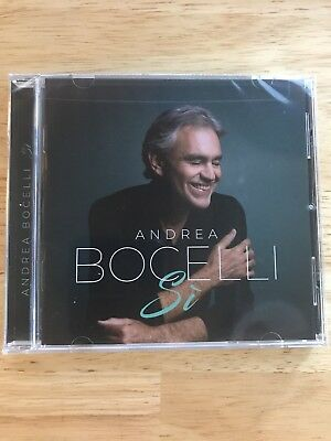 Andrea Bocelli Si NEW CD 2018 SEALED