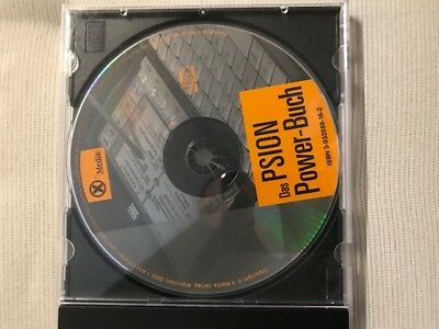 "PSION Software ""Psion Power Buch CD"" Original CD"