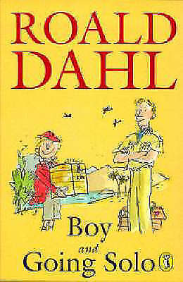 Dahl, Roald, Boy: Tales of Childhood & Going Solo, Paperback, Very Good Book
