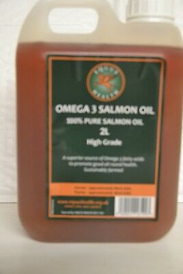 Salmon Oil  2ltr for Horses and Dogs 100% Pure