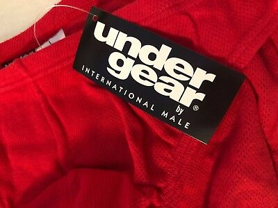 Vintage INTERNATIONAL MALE UNDERGEAR Mesh Pouch Bikini Brief Sz L Underwear NWT