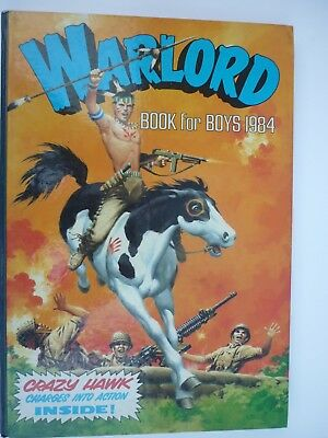 Warlord Book for Boys Annual 1984 Very Good Condition throughout
