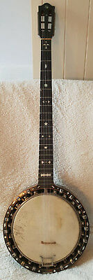 VINTAGE GOLDEN AGE TEMLETT ZITHER BANJO circa.1900 in excellent condition