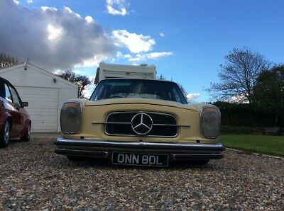 mercedes w114 1972 lowrider hotrod air ride diesel automatic 99p start