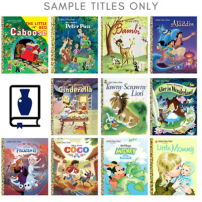 Lot of 20 Little Golden Books Unsorted Homeschool Teachers Library Kids Bundle
