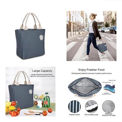 Lunch Bag Bags - Insulated Reusable Tote Organizer Bag/Large Capacity Box Cooler