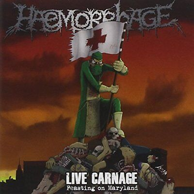 Haemorrhage-Live Carnage: Feasting On Maryland (US IMPORT) CD NEW