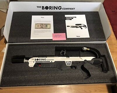 The Boring Company Not a Flamethrower 🔥 BRAND NEW in box! In Hand! With $5 Note