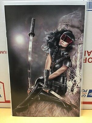 GI Joe Silent Option #1 Natali Sanders - KRS Masked Virgin Variant - Ltd to 500