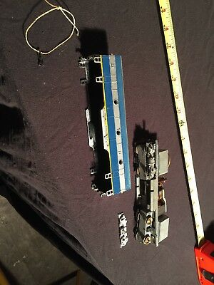Vintage HO Scale Model Railroad Train No Reserve AS IS
