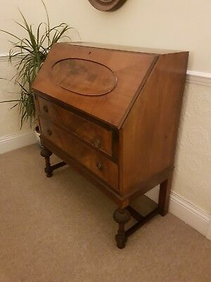 antique writing desk bureau early 20th century.