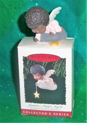 New Retired 1994 Hallmark Mary's Angels Jasmine 7Th Collector's Series Ornament