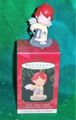 New Retired 1997 Hallmark Mary's Angels Daisy 10Th Collector's Series Ornament