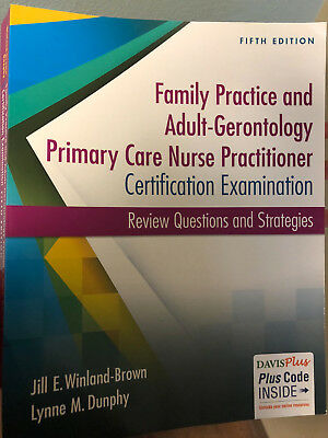 adultgerontology and family nurse practitioner certification examination review questions and strategies
