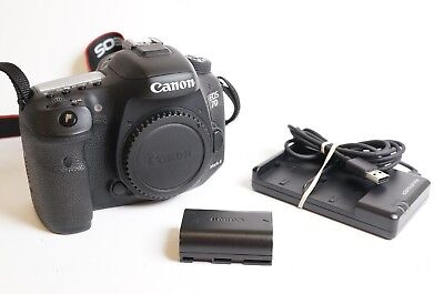 Canon EOS 7D Mark II Camera Body Sold As Is