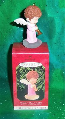 New Retired 1999 Hallmark Mary's Angels Heather 12Th Collector's Series Ornament
