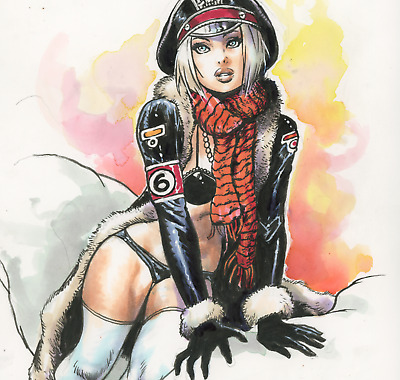 DR. PG original color art  Steve Mannion (FEARLESS DAWN, SPOOKHOUSE, GALAKTIKON)