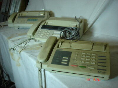 Fax Machines x 5    Bulk lot   ---  untested