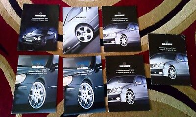 Brabus Catalag Bundle. W220 x2, w203 x3, w215, 2000 complete program.