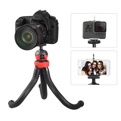 Universal Octopus Flexible Stand Tripod Mount Holder for Cell Phone Camera Y4Y9
